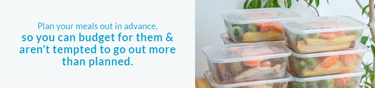 meals in tupperware containers